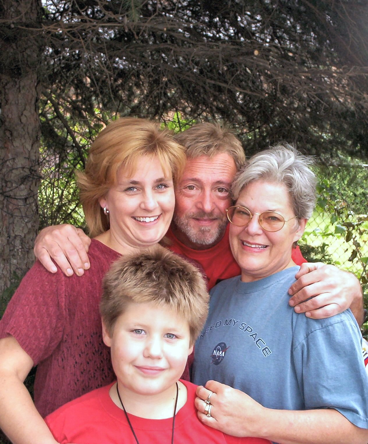 "Heather ""Sam"" Johnson and family"